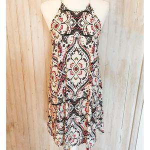 Cato Paisley Swing Dress